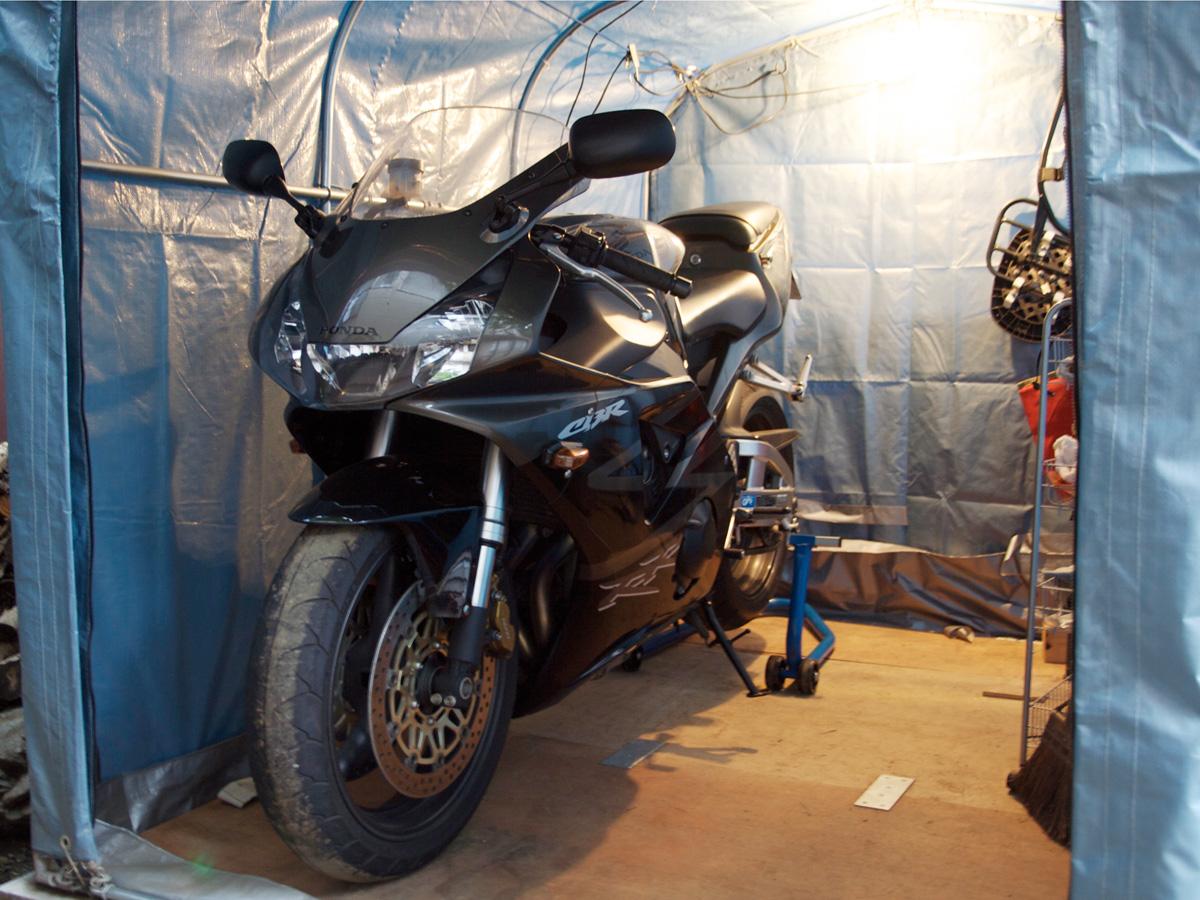954: バイクスライド